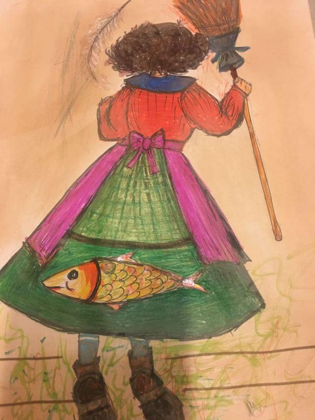 Tia Ella e o peixe